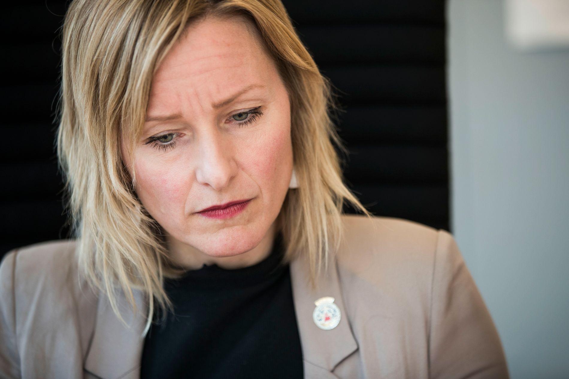 KREVENDE: Inga Marte Thorkildsen beskriver samarbeidet med Utdanningsetaten som vanskelig.