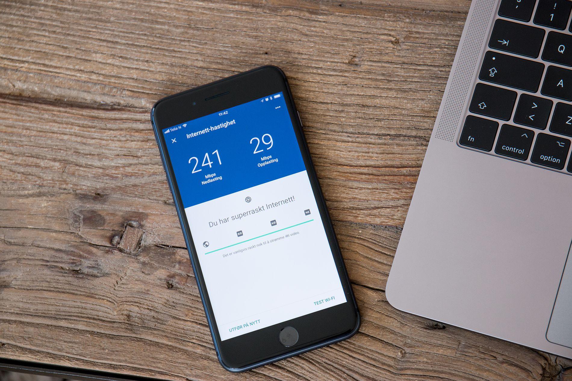 Mesh-nettverk styres gjennom apper, og de har som regel mange nyttige funksjoner for analyse og overvåkning av nettet. Selv når du ikke er hjemme.