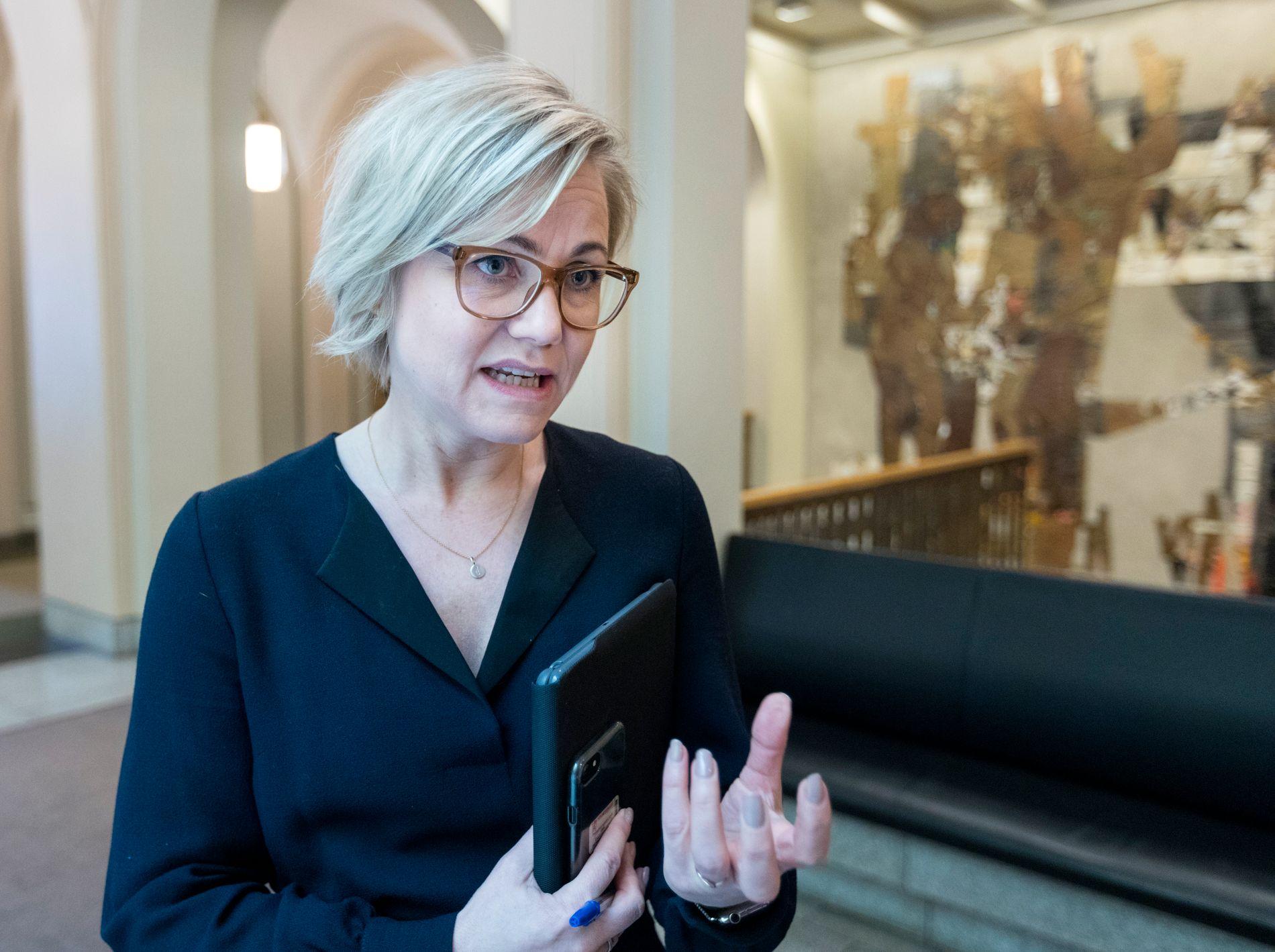 FORNØYD: Stortingsrepresentant Ingvild Kjerkol (Ap).