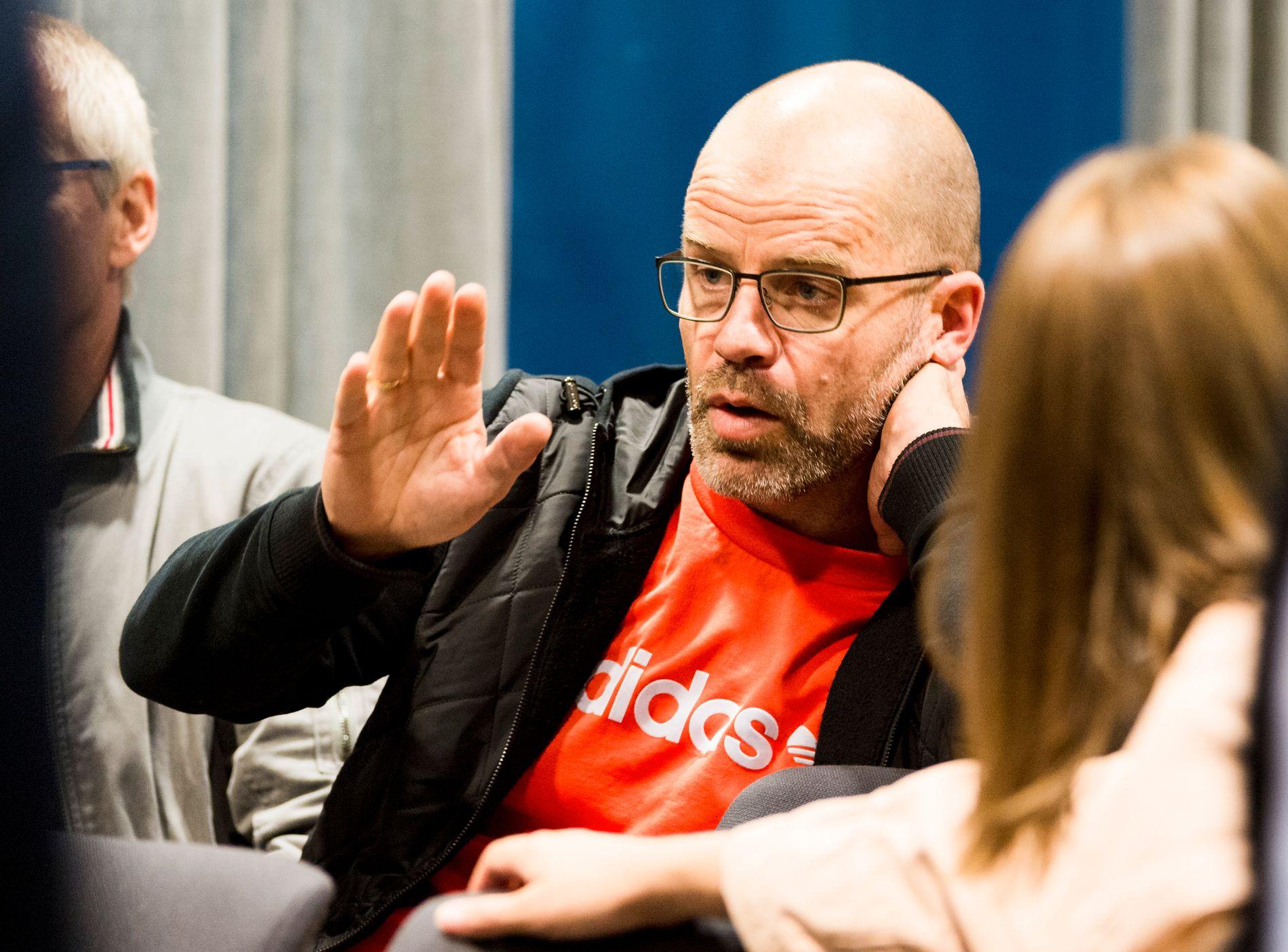 RBK-BOSS: Stig Inge Bjørnebye avslører hvor vanskelig det var å få kjøpe Samuel Adegbenro og Anders Trondsen. Her er han avbildet under RBKs pressekonferanse på Lerkendal.