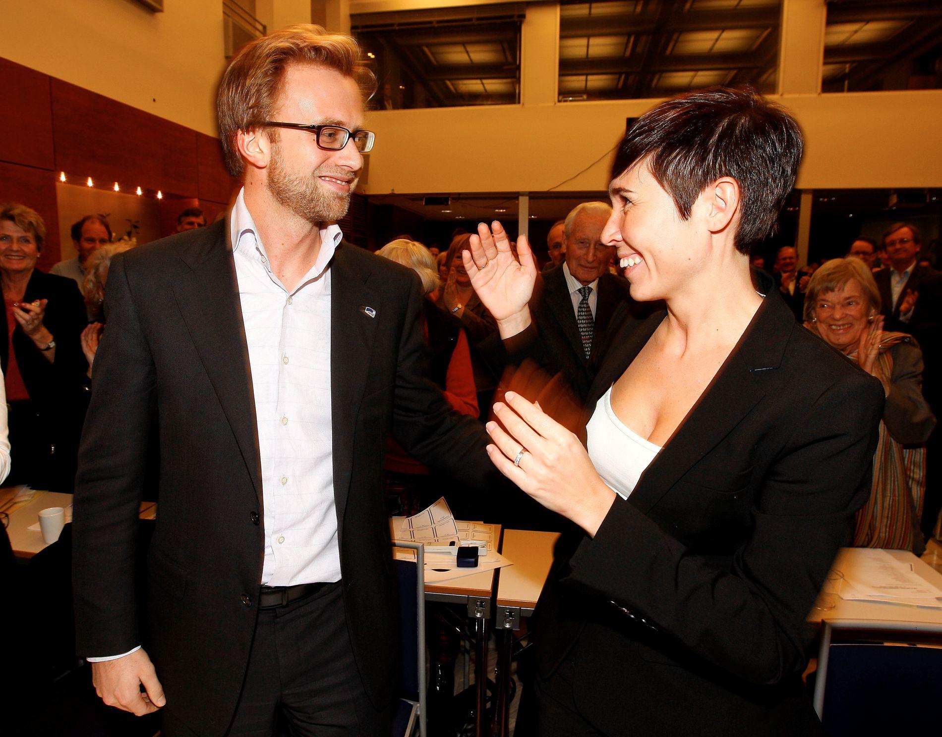 GIR MER TIL FATTIGE: Utviklingsminister Nikolai Astrup (H) og utenriksminister Ine Eriksen Søreide (H).