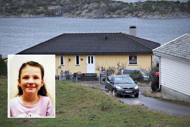ÅSTEDET: Det var i dette huset utenfor Bergen at 8 år gamle Monika ble funnet død. Varsleren har vært vesentlig for at saken ikke ble liggende henlagt med konklusjonen selvmord.