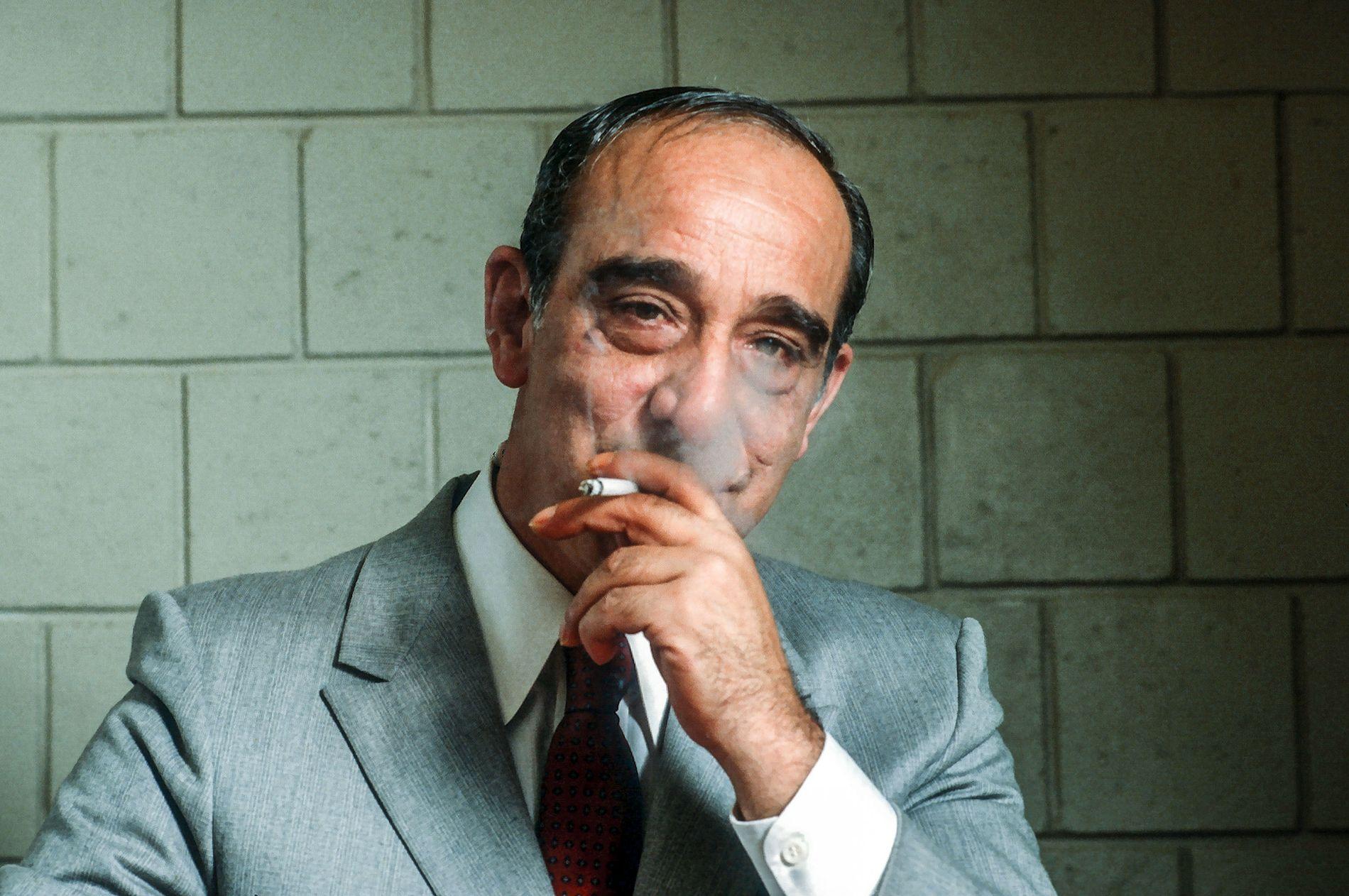 SLANGEN: Carmine Persico startet sin kriminelle karriere som tenåring, og kom helt til topps i en av New Yorks mafiafamilier.