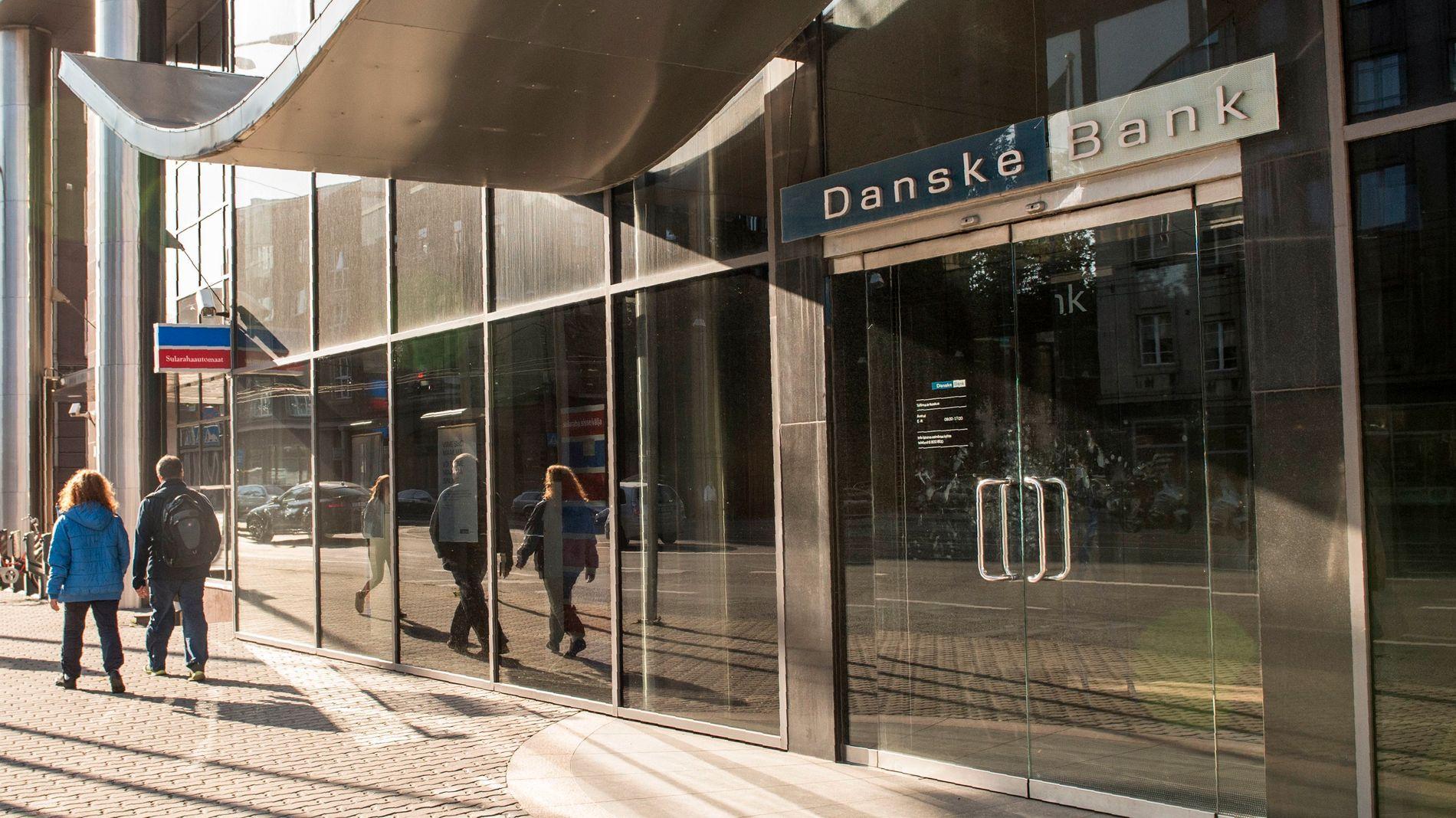 UNDER ETTERFORSKNING: Danske Banks kontor i Tallinn, Estland.