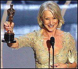 STORFAVORITT: Helen Mirren innfridde forventningene. Foto: AFP