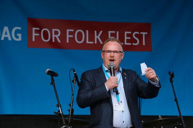 FRP-POLITIKER: Per Sandberg planlegger å reise til Midtøsten for å møte flyktninger.