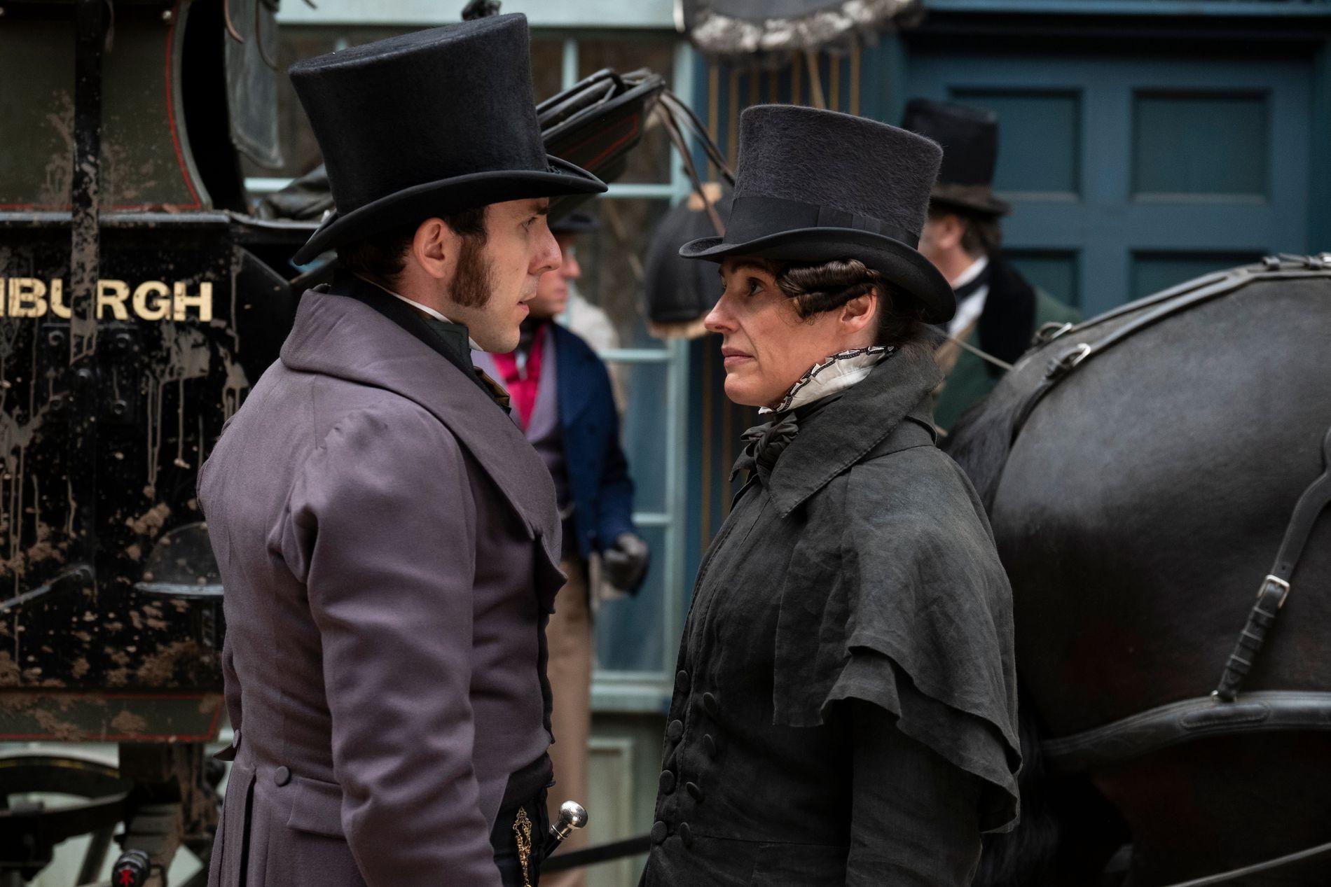 DYKTIG: Suranne Jones t.h. som Gentleman Jack, et av Listers kallenavn.