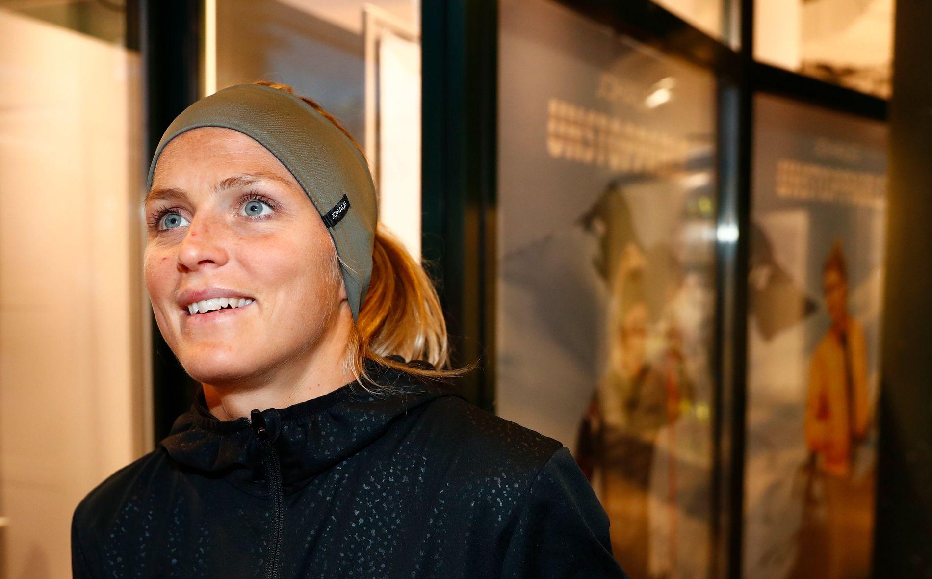 KAN SE FREMOVER: 17. februar var Johaug tilbake på landslaget. Hun er klar til neste sesong.