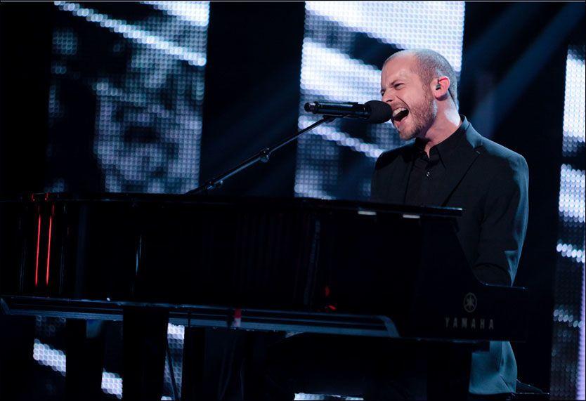 UTE AV KONKURRANSEN: Shaun Bartlett røk fredag ut av «The Voice». FOTO: Robert Dreier T. Holand/ TV2