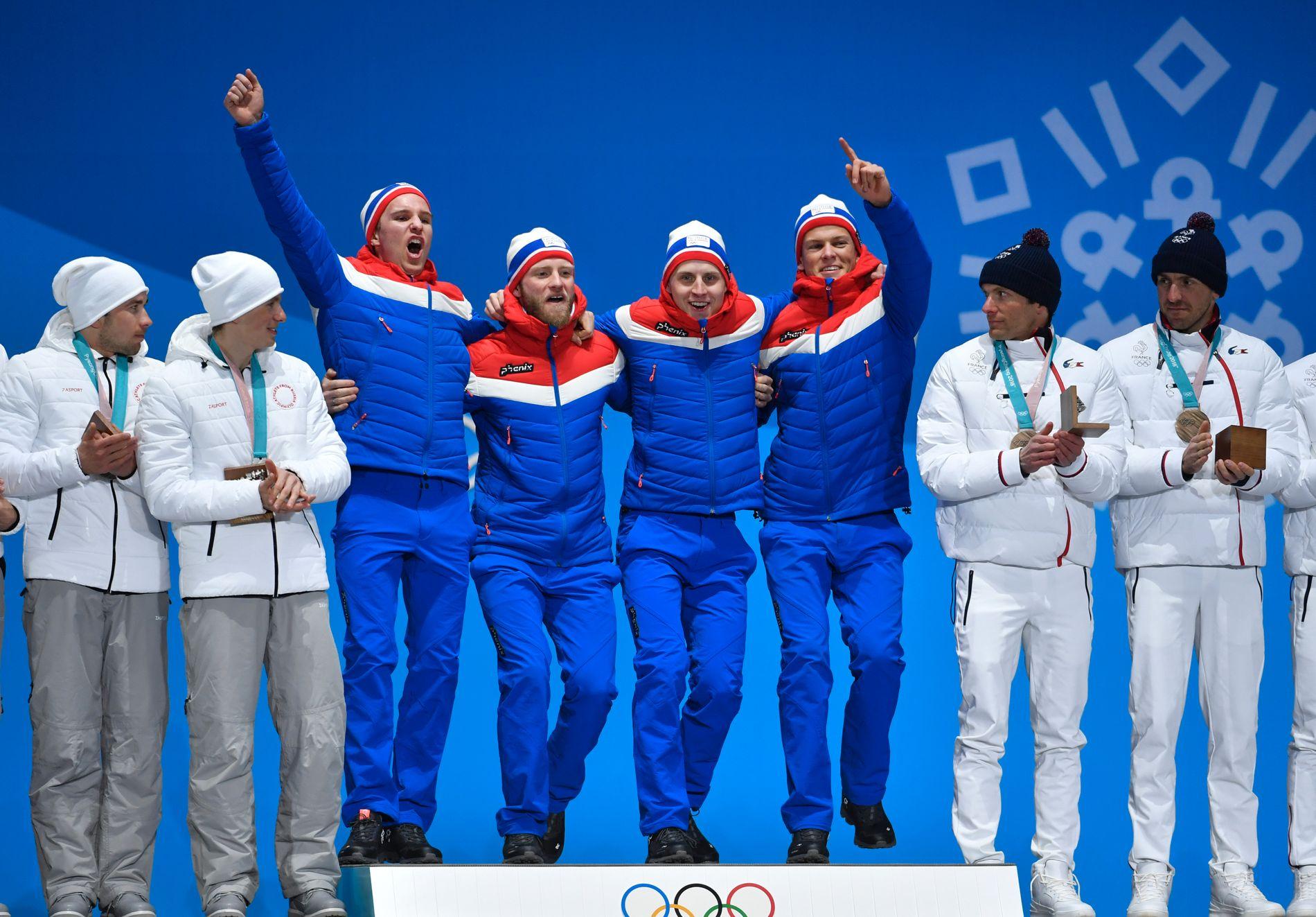 MEDALJEREKORD: - Grunnlaget for årets OL-medaljer ligger hjemme i Norge – i de rundt 11 500 lokale idrettslagene som finnes over hele landet, skriver Trine Skei Grande.