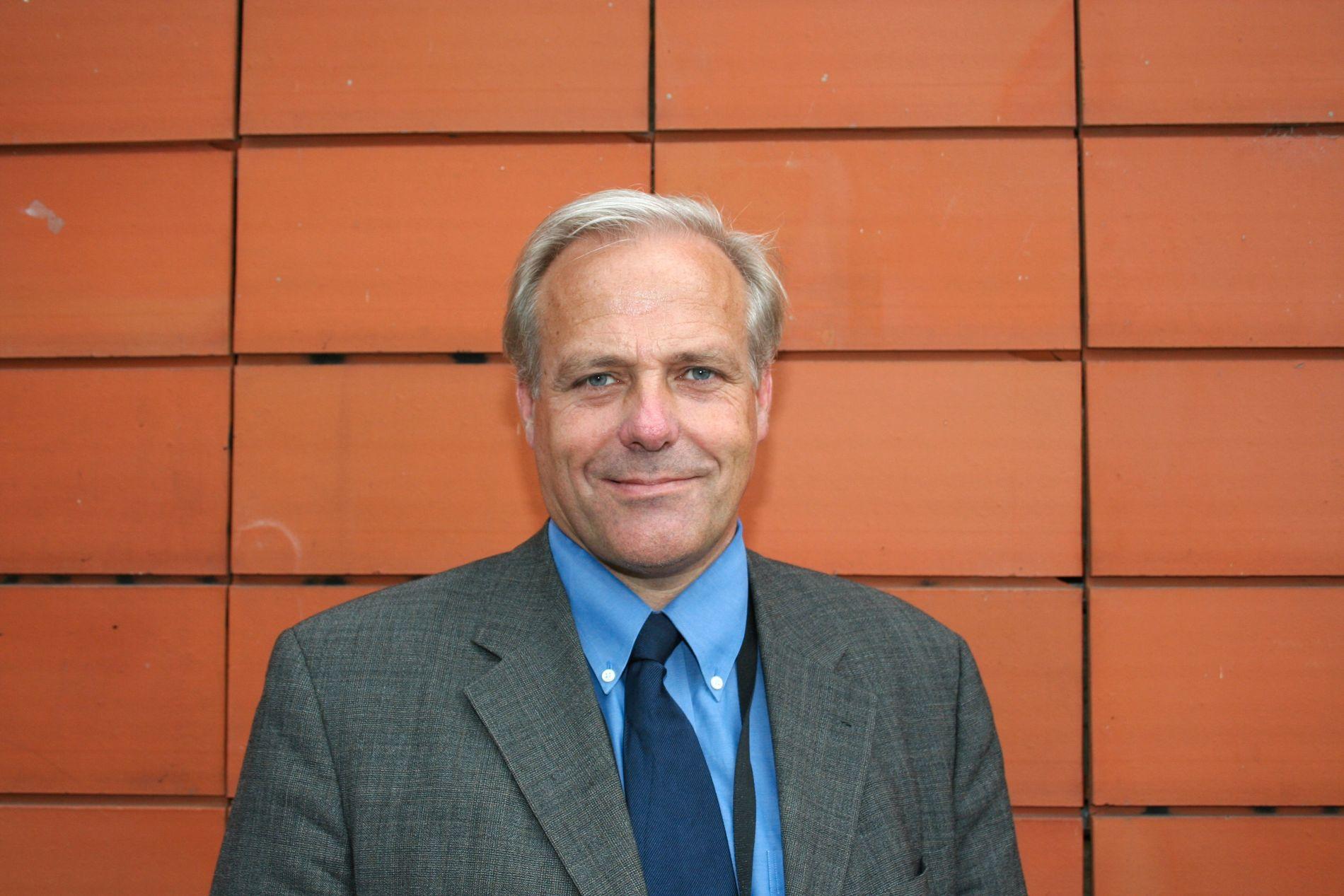 SYKEHUSSJEF: Sigbjørn Smeland er klinikkleder ved Kreftklinikken ved Oslo universitetssykehus.