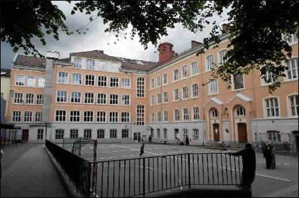 ELEVFRAVÆR: Tøyen skole har tidligere hatt problemer med elever som ikke møter opp til skolestart. Foto: Lise Åserud, SCANPIX