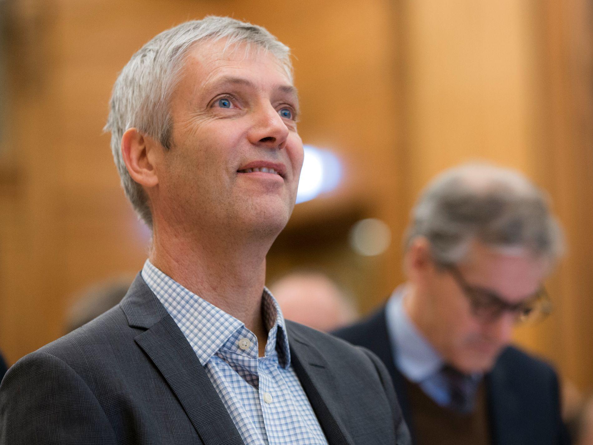 MER OPTIMISTISK: Professor Steinar Holden ved Universitetet i Oslo tror ikke lave boliglånsrenter har skapt store problemer for norsk økonomi enda.