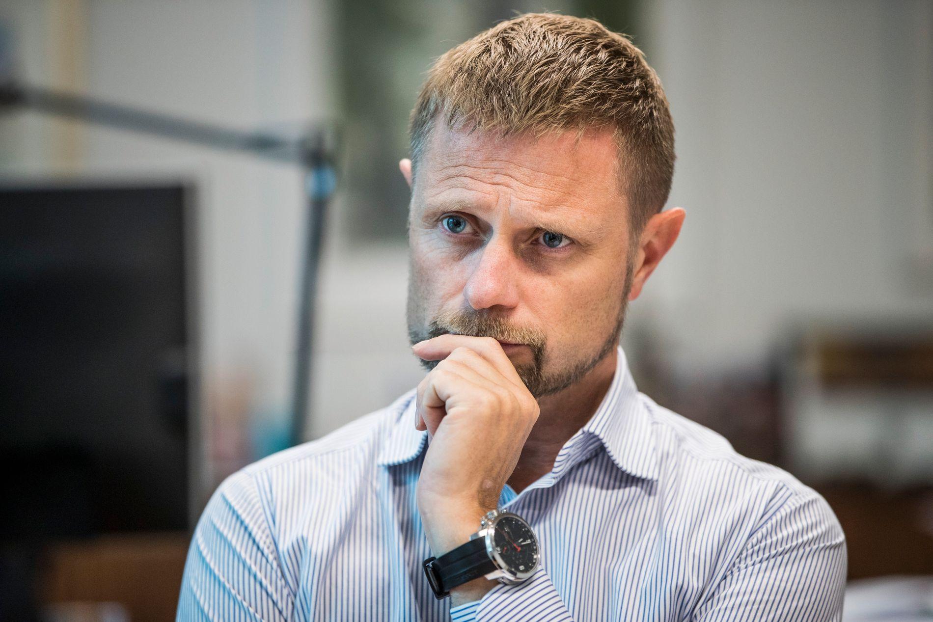 PROVOSERT: Helseminister Bent Høie (H) er provosert etter VGs predikant-avsløringer, og sier han vil se på lovverket med nye øyne.