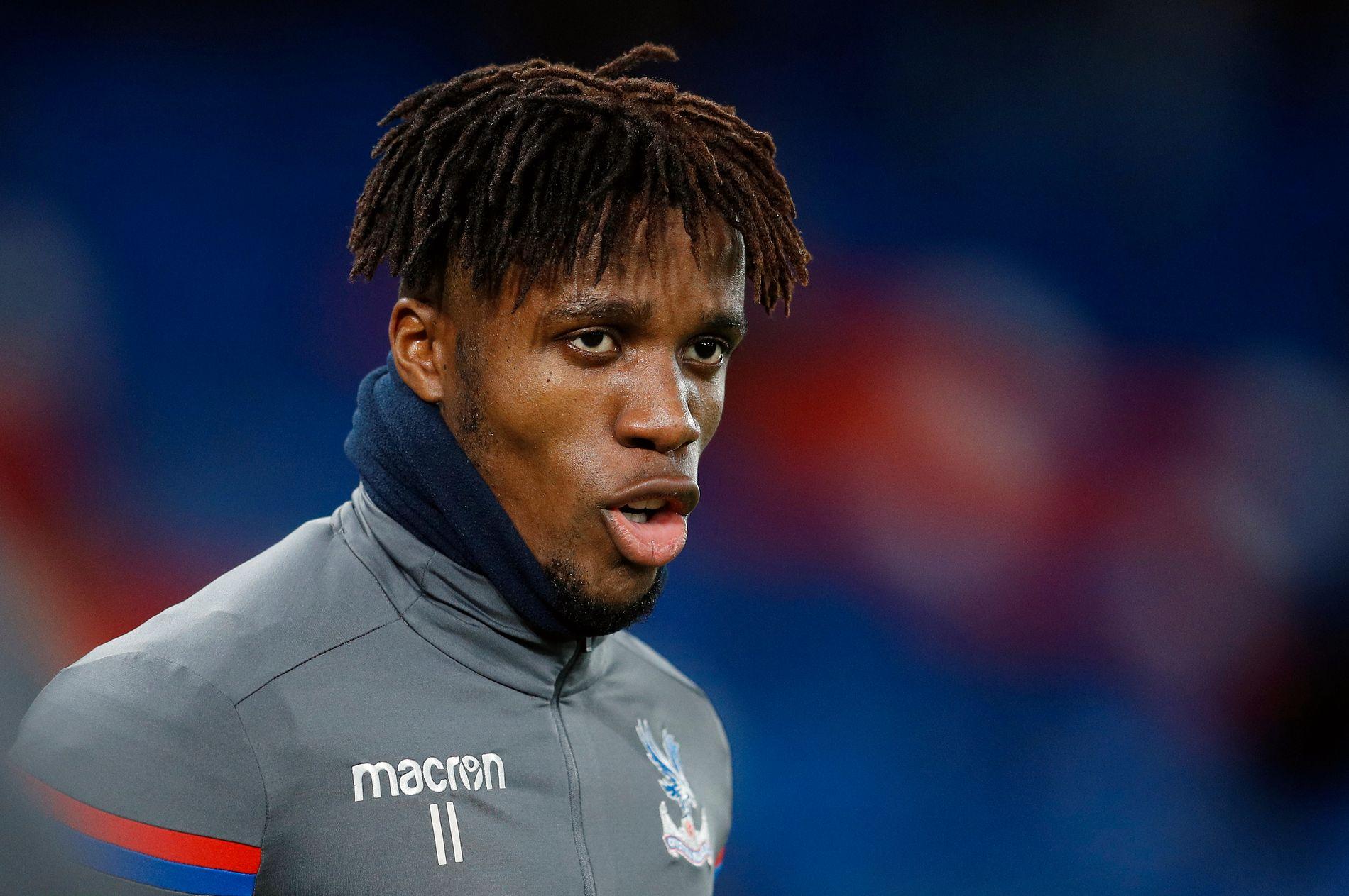 BRENNHET: Crystal Palace-profilen Wilfried Zaha er aktuell for flere toppklubber i Premier League.