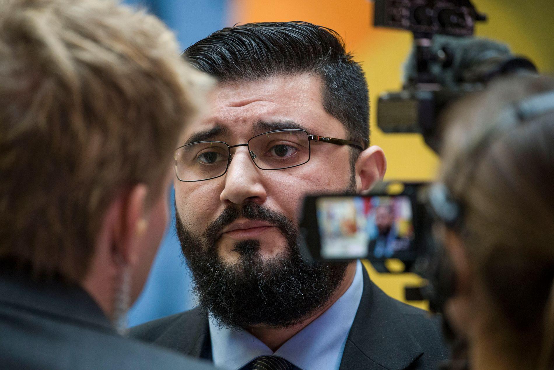 LEGGER SEG FLAT: Mazyar Keshvari har beklaget falske reiseregninger.