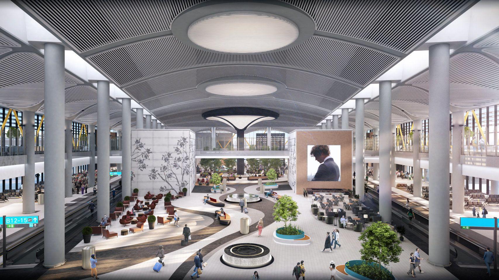 200 MILLIONER: Med en mulig kapasitet på 200 millioner reisende, kan flyplassen bli en av verdens travleste.