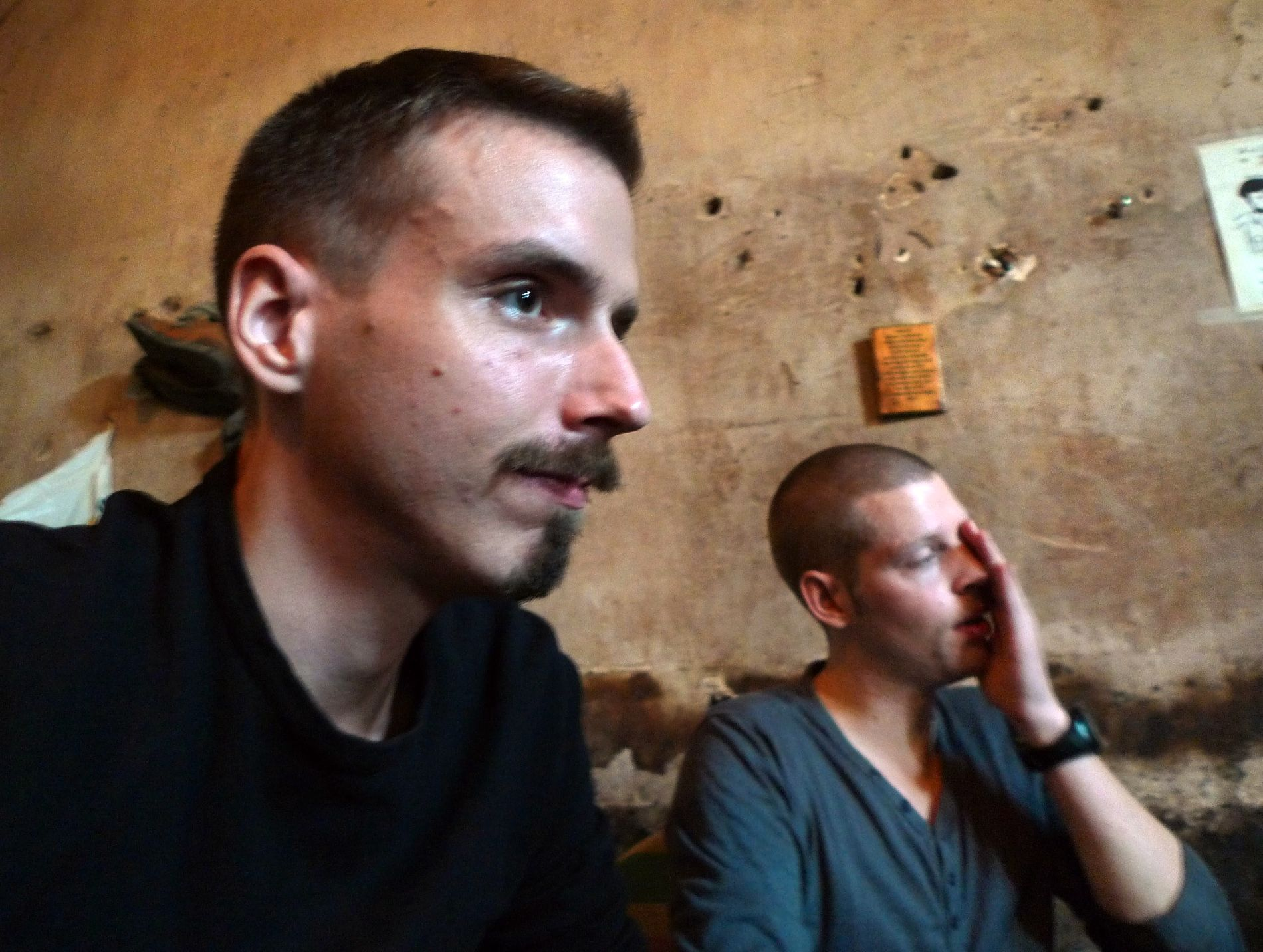 INNESPERRET: Joshua French satt fengslet i drøye åtte år før han til slutt kom seg hjem til Norge. Moland på sin side, ble funnet død på cella i 2013.