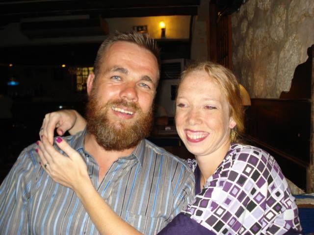 TILTALT FOR DRAP: Svein Jemtland er tiltalt for å ha drept sin kone Janne Jemtland. Her er de avbildet sammen i Djibouti på Afrikas Horn.