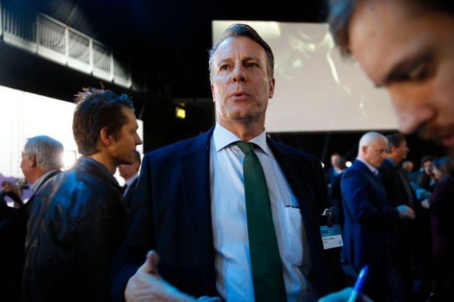 EN AV NORGES RIKESTE MENN: Johan H. Andresen fra NHOs årskonferanse i 2016.