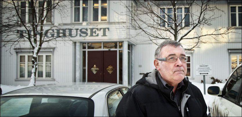 AVBRØT: Sorenskriver Tom Urdahl avsluttet domskonferansen i Elverum etter at han ble kjent med nyhetsinnslaget i går ettermiddag.