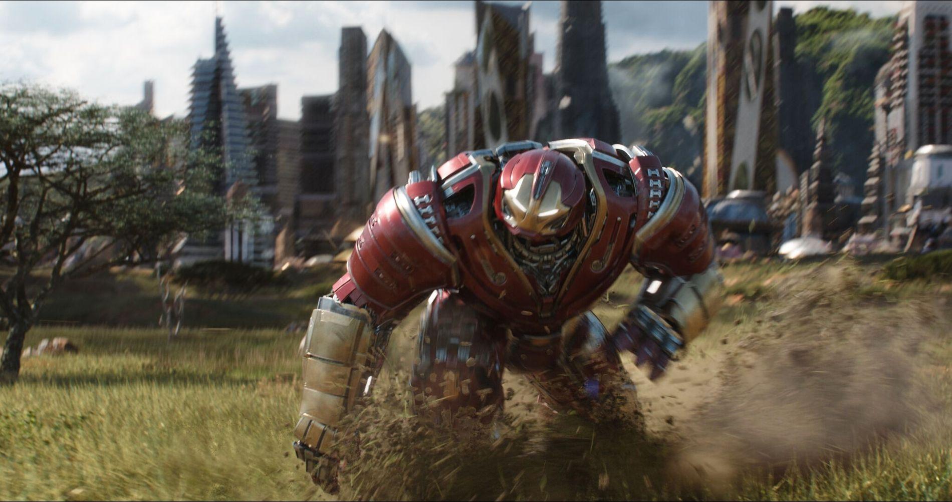 PUTEMANN: Iron Man i en bedre polstret og mer romslig drakt.