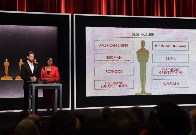 NOMINERT: Her blir «The Imitation Game» nominert til «beste film».
