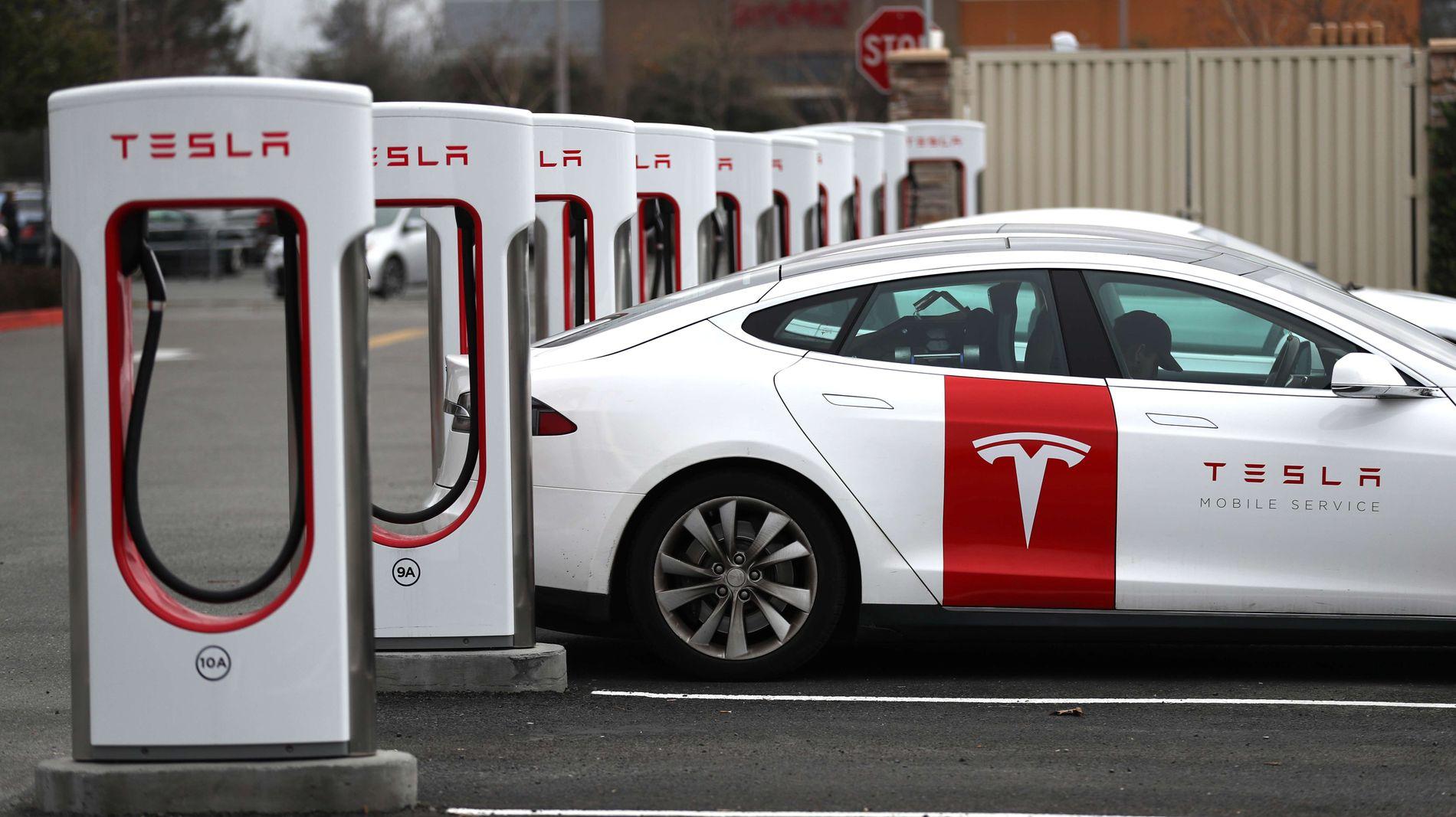 Nye superladere til Model 3 Tesla Owners Club Norway