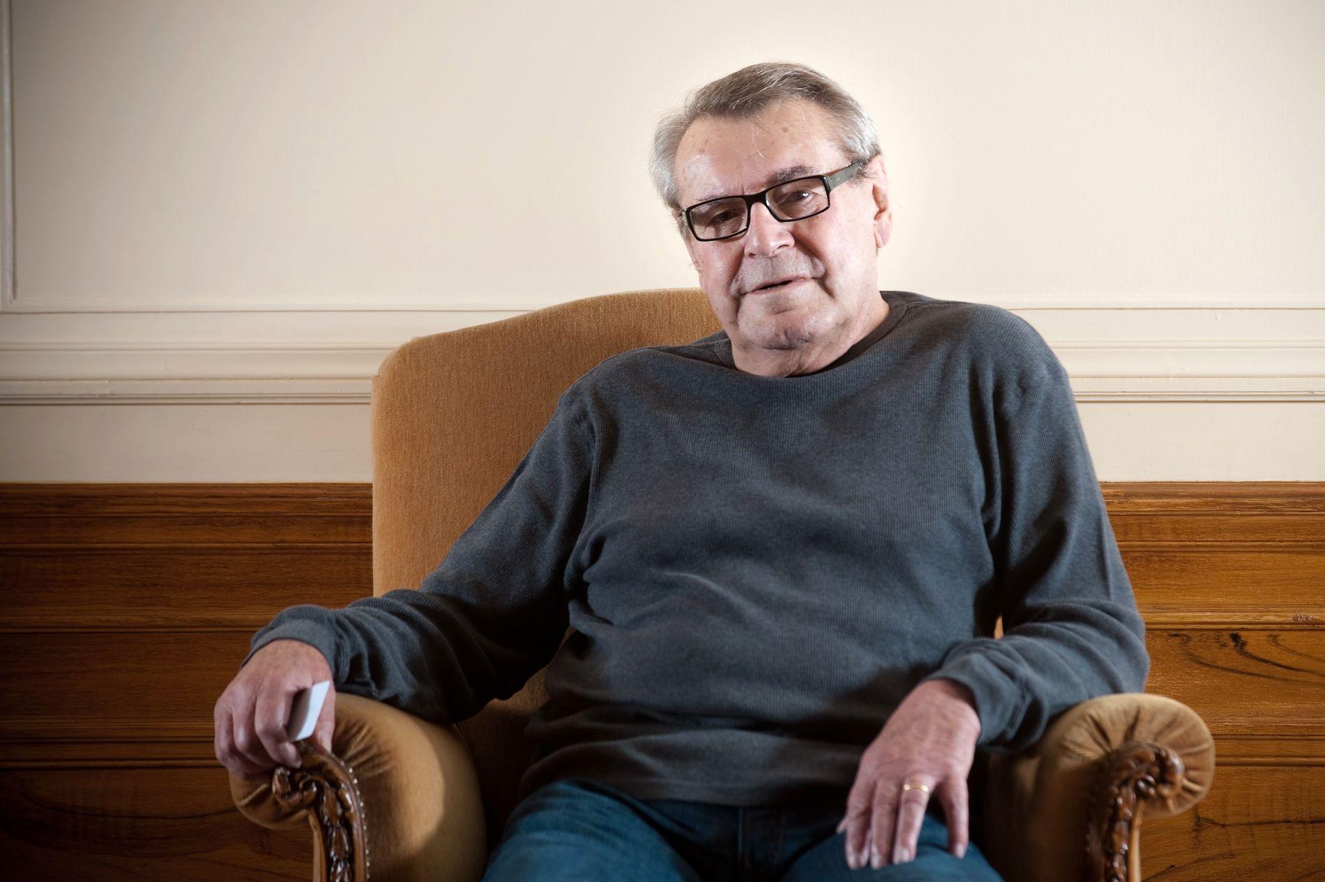 GIKK BORT: Den tsjekkiske filmregissøren Milos Forman.