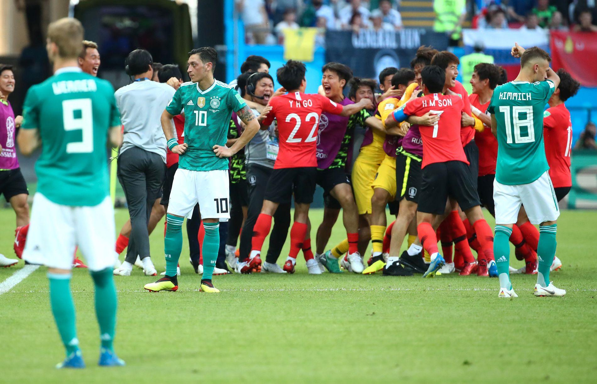 2–0: Young-Gwon Kim og Heung-Min Son scoret målene for Sør-Korea, begge på overtid.