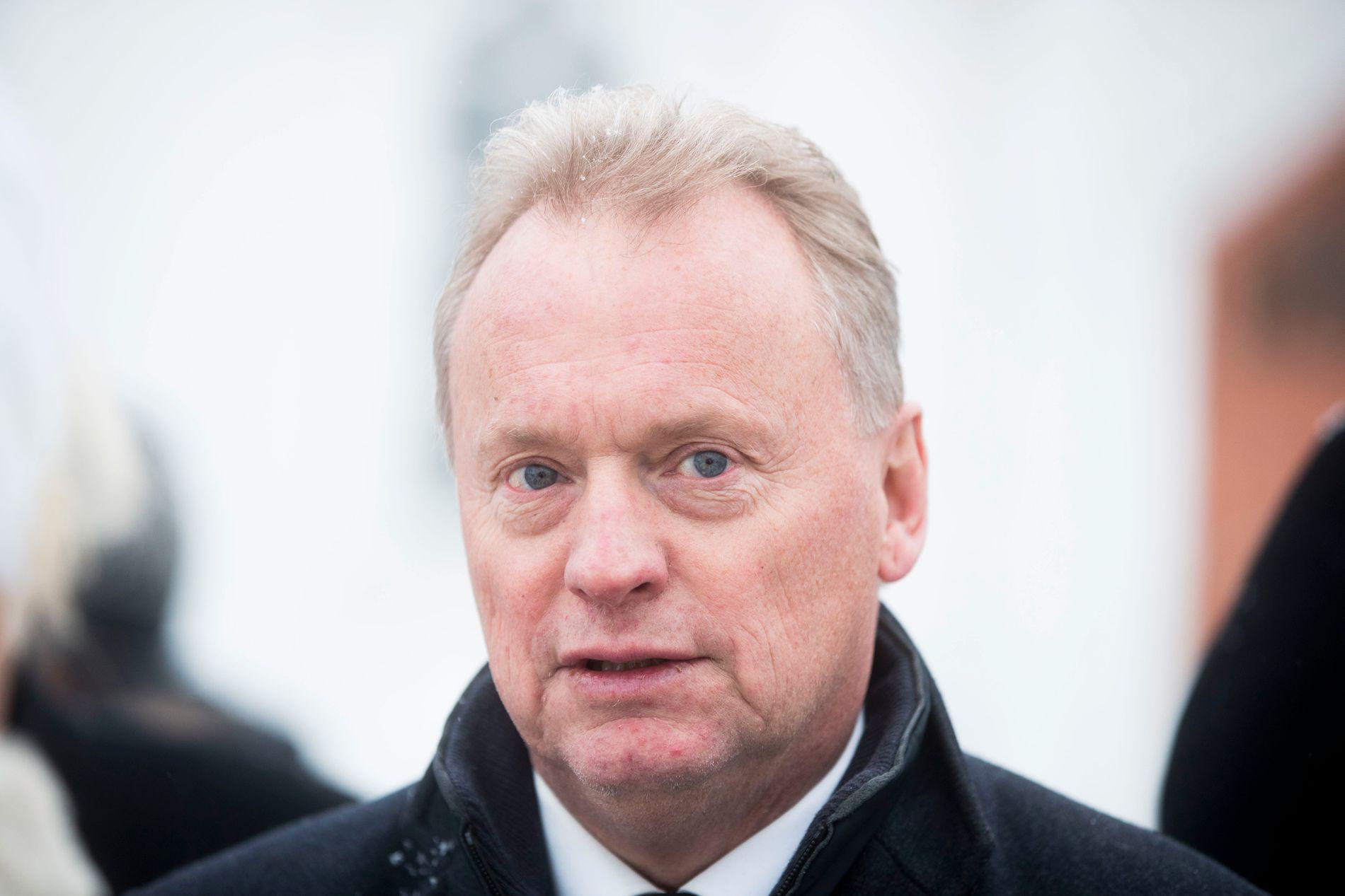 REAGERER: Byrådsleder Raymond Johansen (Ap) reagerer på Sylvi Listhaugs (Frp) uttalelser.