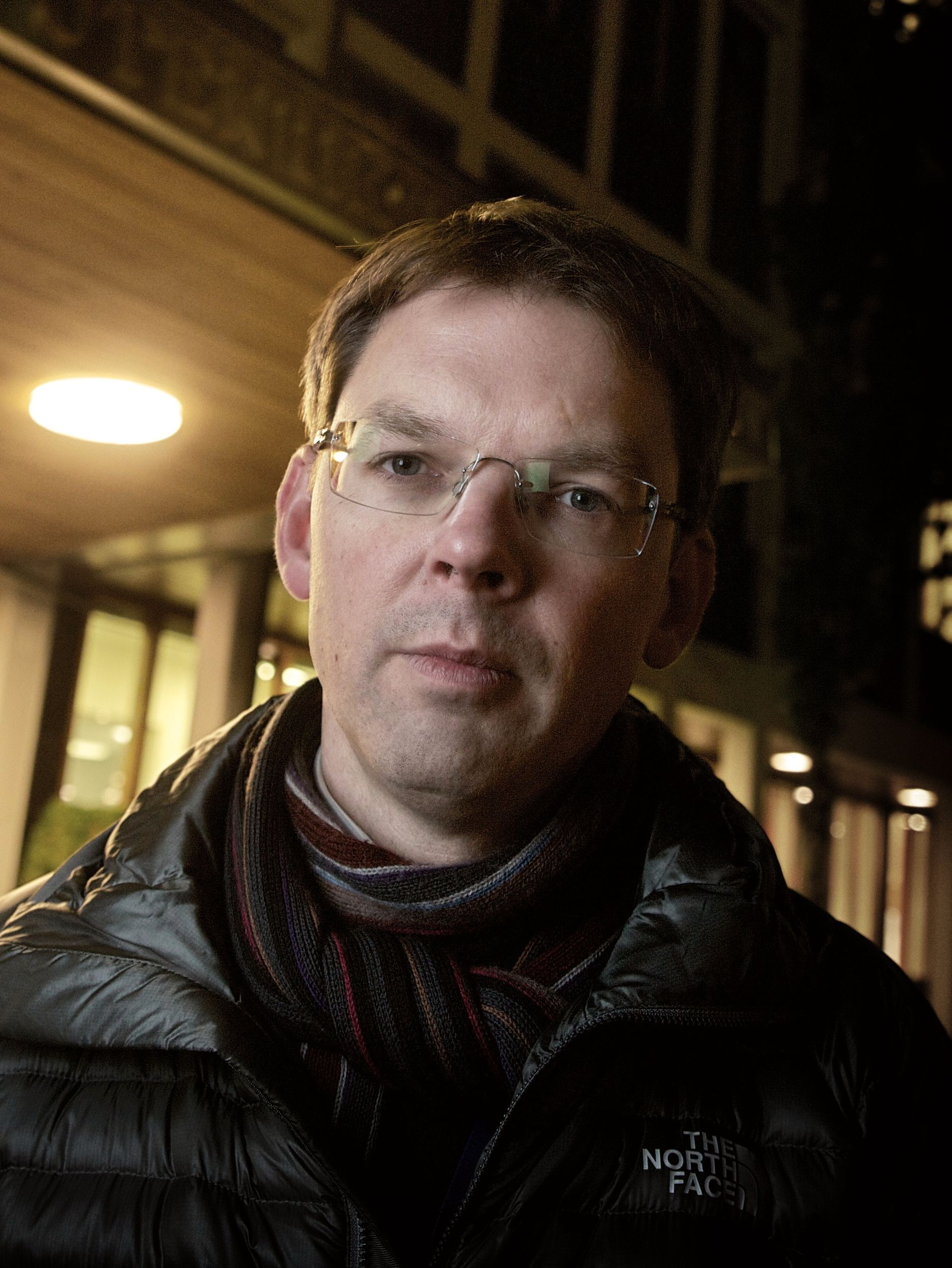 UD SVARER: Kommunikasjonssjef i UD Frode Andersen.
