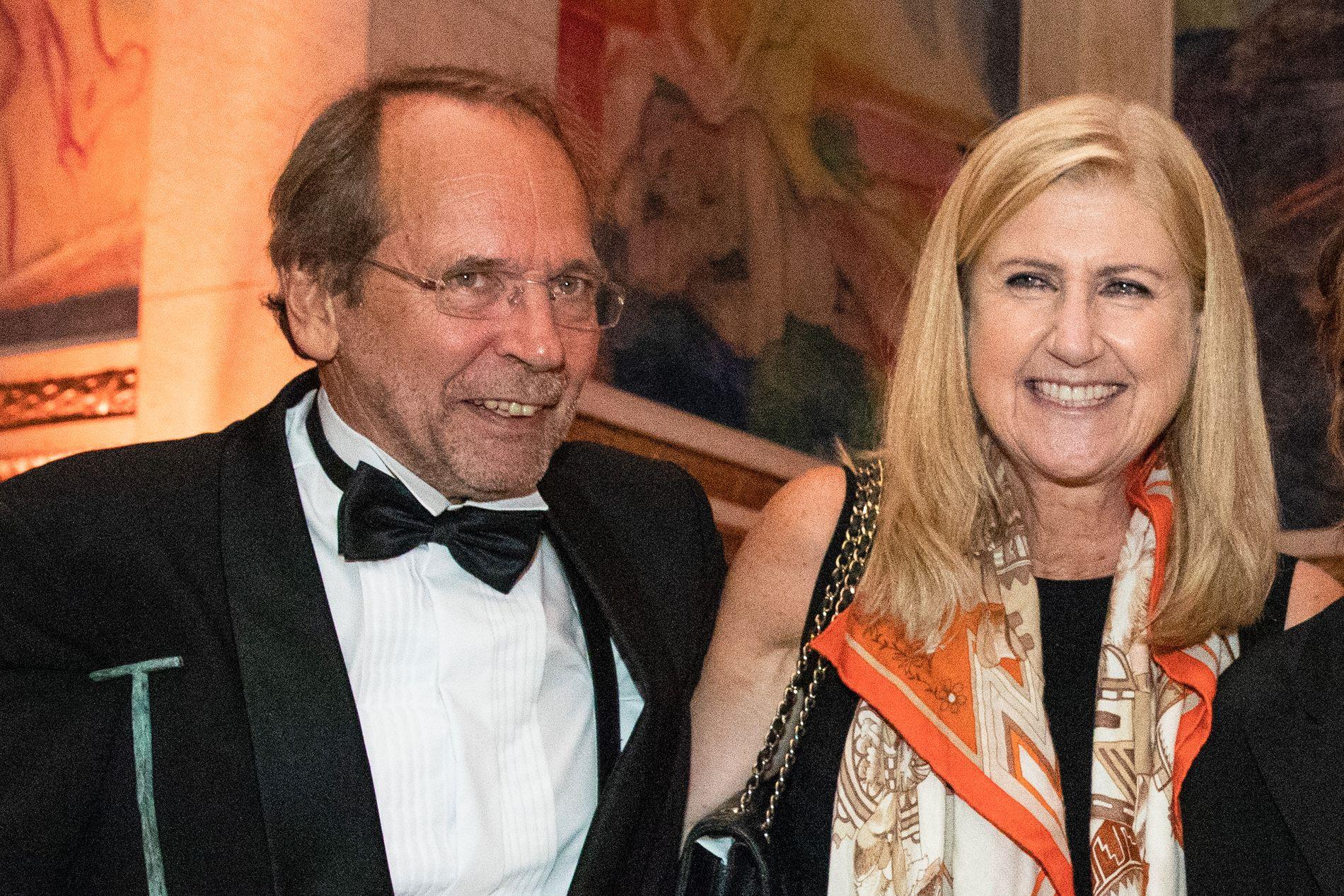 VENNER: Visesangeren Ole Paus og Anne Grete Preus var gode venner. Her under utdelingen av Anders Jahres kulturpris i september 2018.