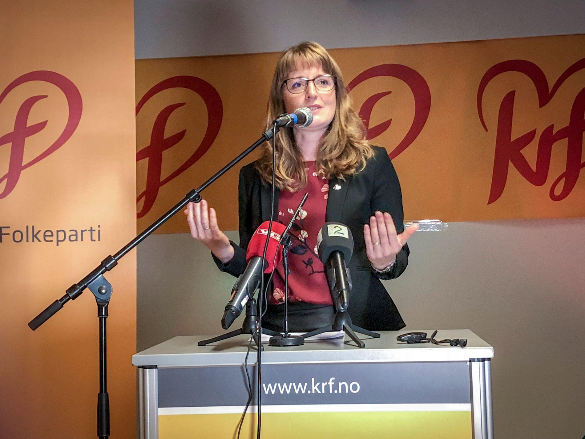 NY NESTLEDER? Fylkesleder i Nordland KrF, Ingelin Noresjø frykter KrF svekkes i distrikter der flertallet er «røde».