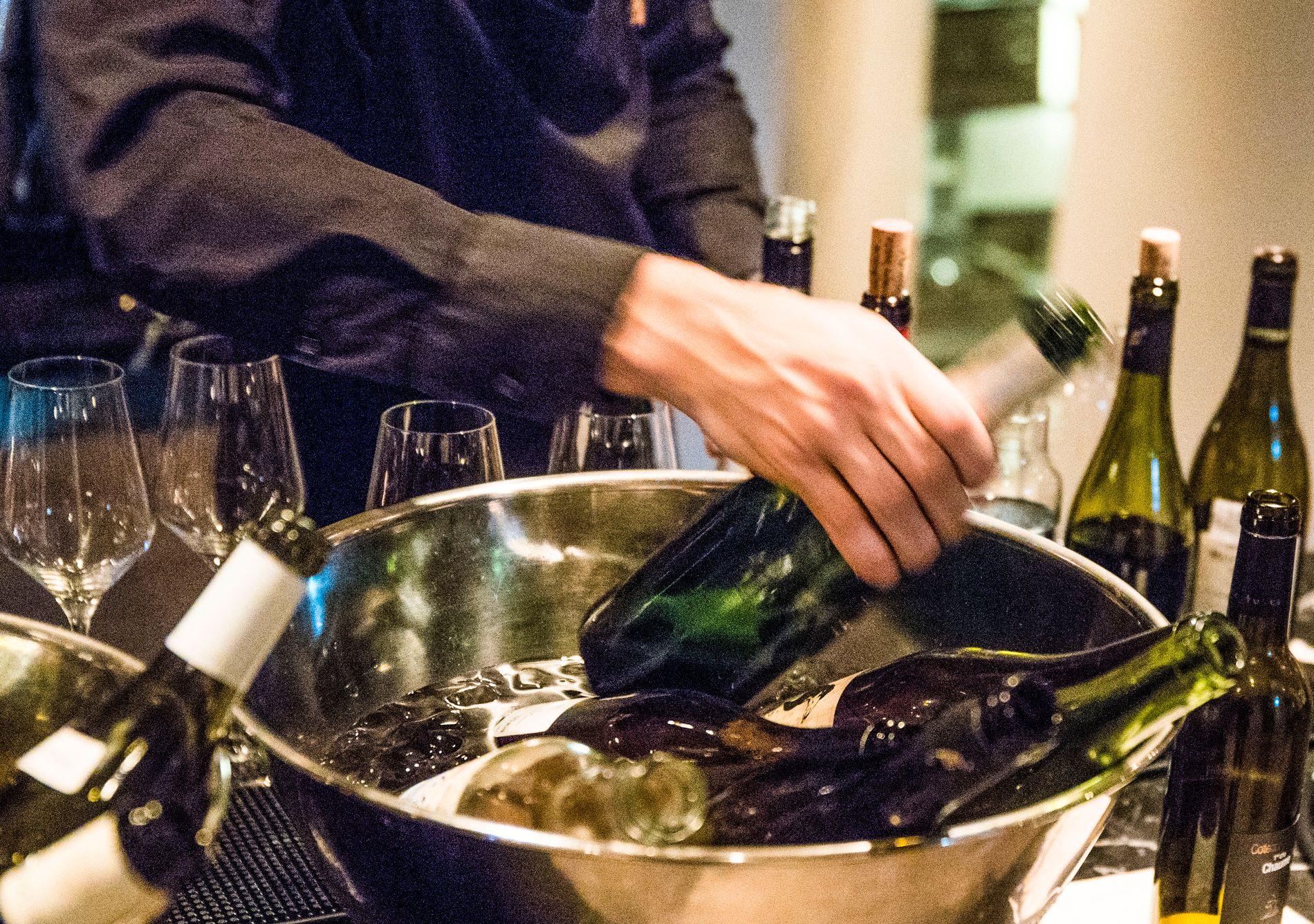 8,2 PROSENT NED: Den internasjonale organisasjonen for vin og vinproduksjon melder at vinproduksjonen på verdensbasis er på 24,67 milliarder liter vin så langt i år.