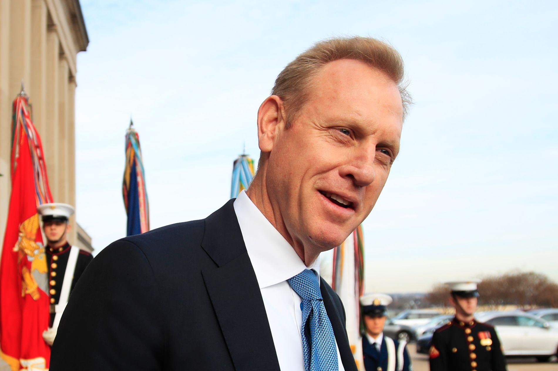 BLIR FORSVARSMINISTER: Vise-forsvarsminister   Patrick Shanahan blir fungerende forsvarsminister når Jim Mattis går av 1. januar.