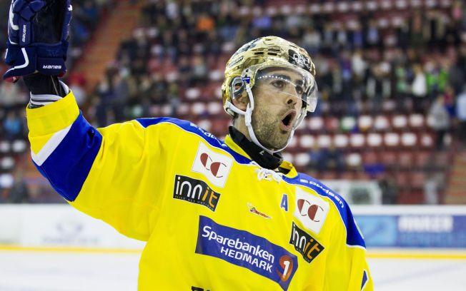 GOD: Christian Larrivée jubler for scoring i en tidligere kamp mot Vålerenga.