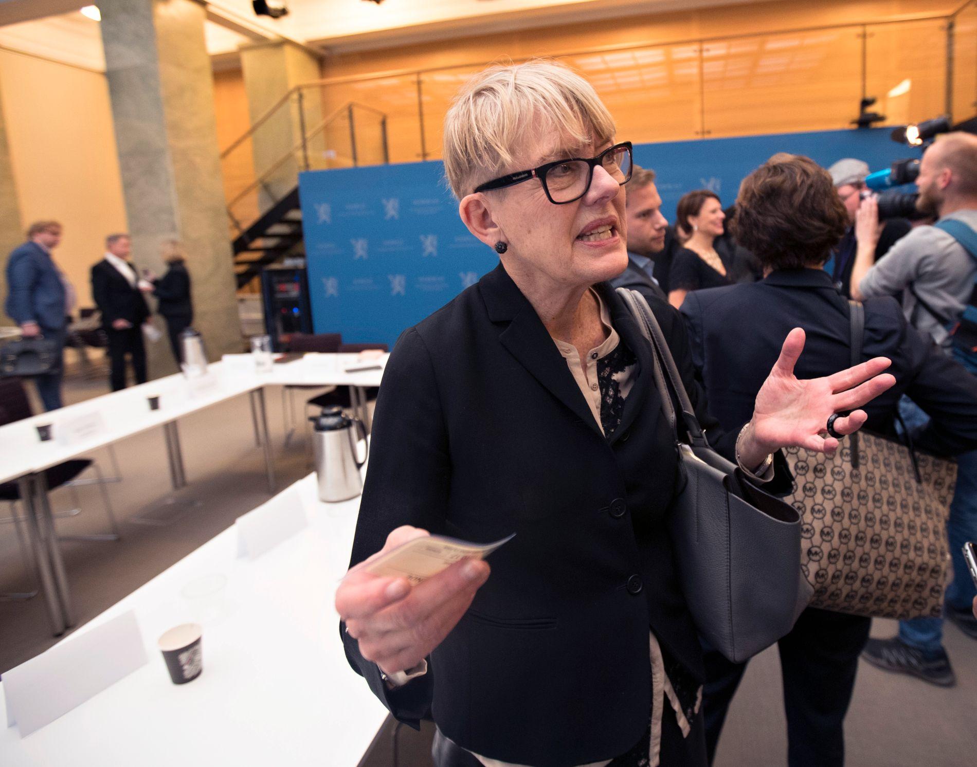 I HARDT VÆR: Utdanningsdirektør i Oslo, Astrid Søgnen (66).