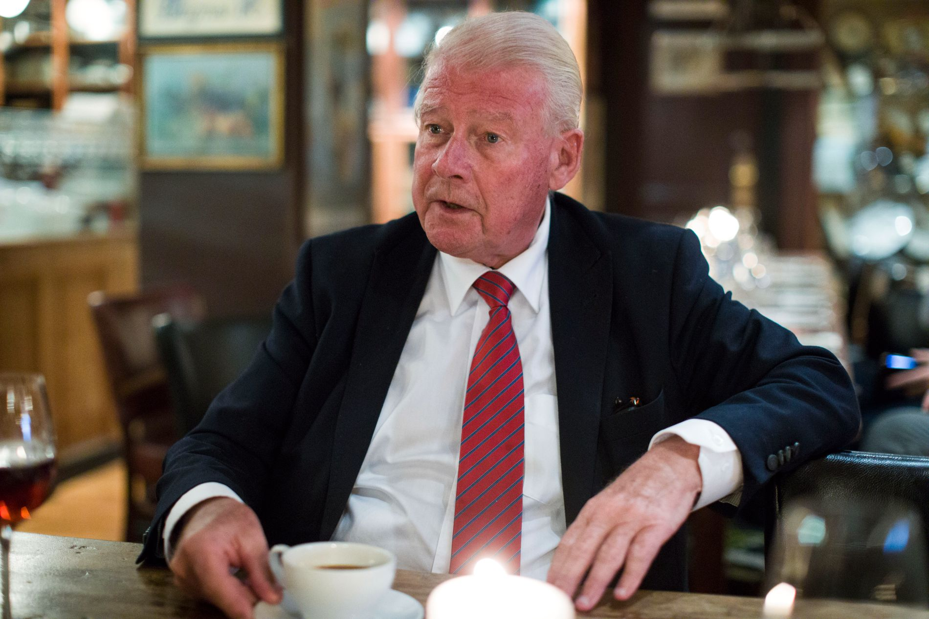 TORDNER: Carl I. Hagen er ikke imponert over at statsminister Erna Solberg ikke støttet Sylvi Listhaug.