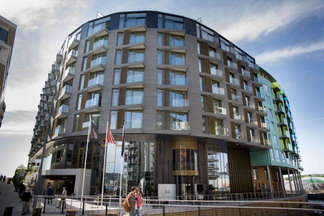 NAVNESTRID: Petter Stordalens luksushotell «The Thief» kan miste navnet sitt. Hotellkongen tapte nylig varemerkerettighetene til hotellet på Tjuvholmen i Oslo.