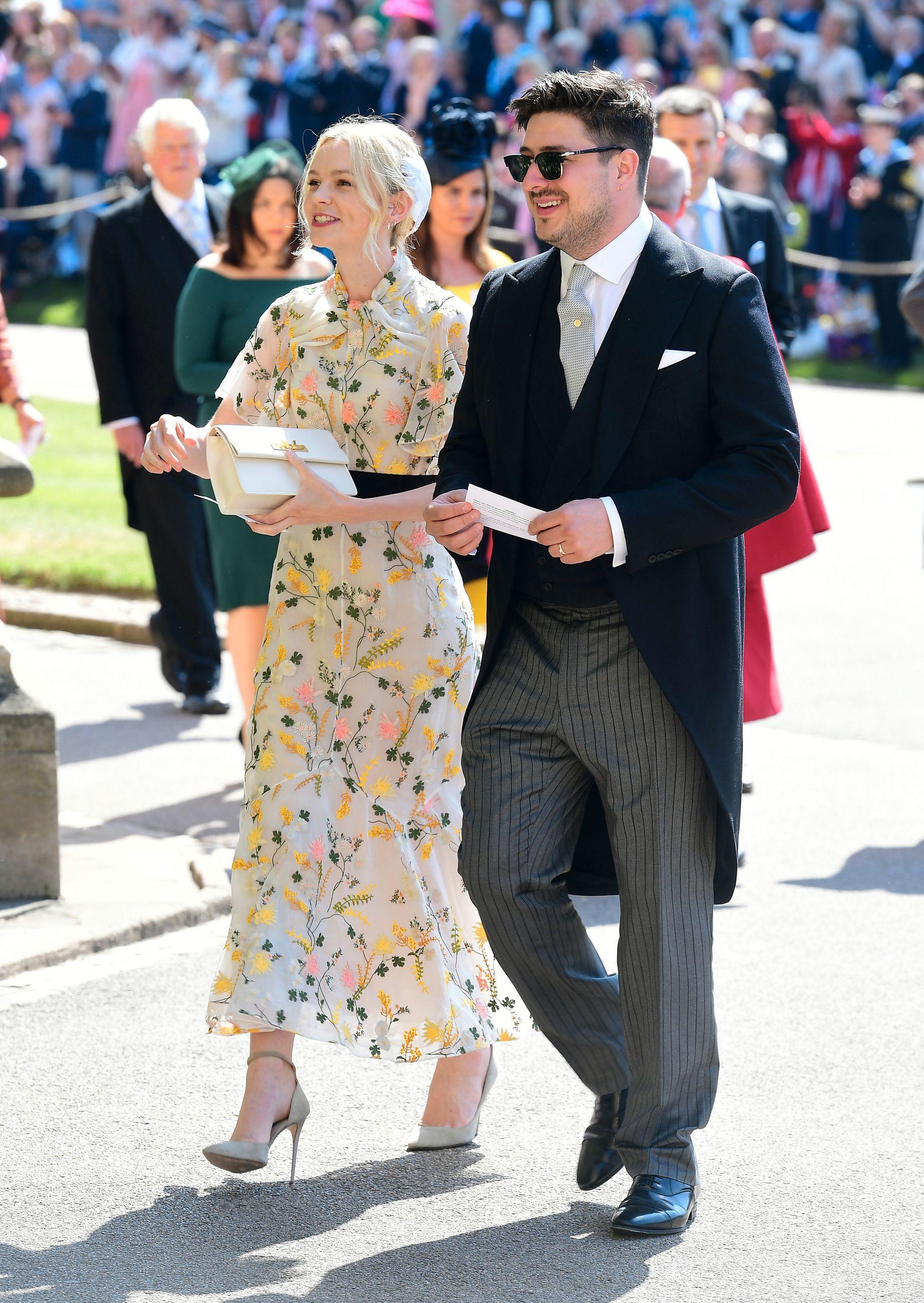 ARTIST-PAR: Skuespiller Carey Mulligan og ektemannen Marcus Mumford i Windsor.