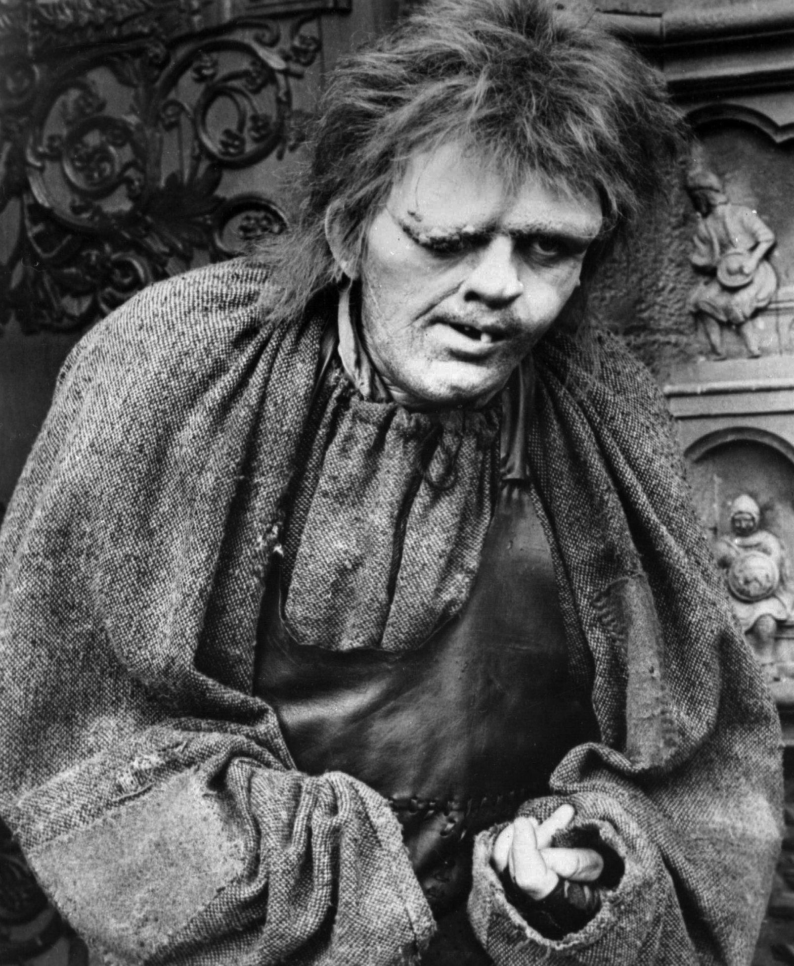 RINGEREN I NOTRE DAME: Quasimodo i Anthony Hopkins skikkelse.