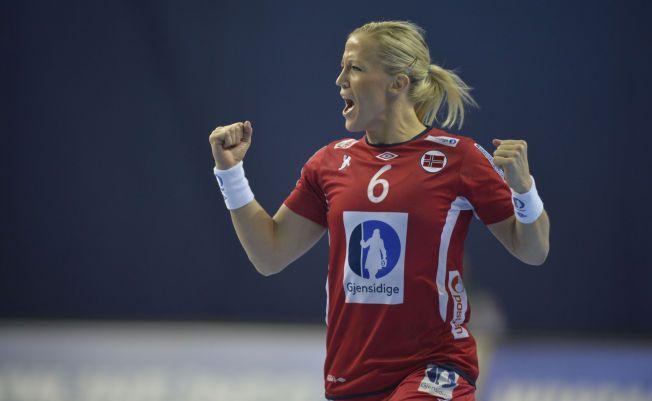 SENTRAL: Heidi Løke har siden debuten i 2006 var en svæt sentral spiller for det norske landslaget.