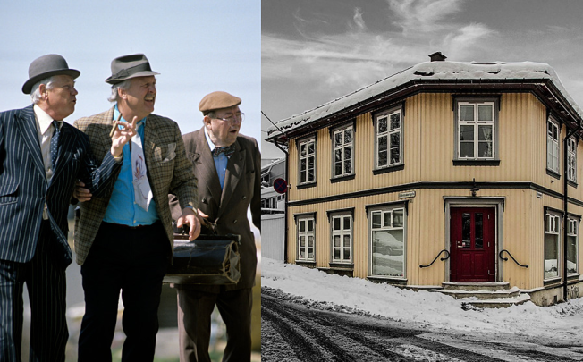 SØKER NY EIER: «Olsenbanden-huset» på Kampen i Oslo er filmseriens kanskje viktigste location.