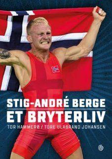 FAKSIMILE: Omslaget til boken om Stig-André Berge som kommer ut på Kagge forlag fredag.