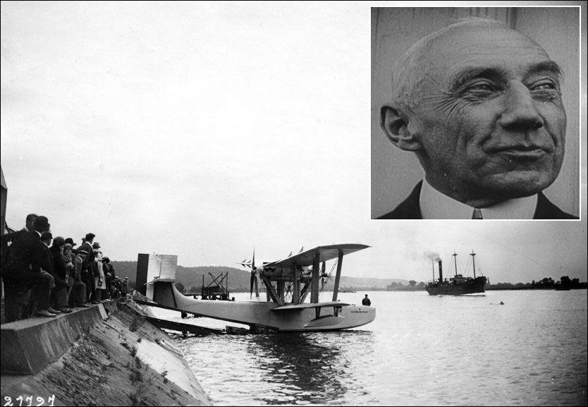 IKKE FUNNET: Roald Amundsen og flyet Latham 47 forsvant i 1928. Den ble ikke funnet til tross for en storstilt leteaksjon. Foto: SEARCH FOR AMUNDSEN / EPA