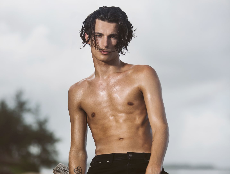 REALITY-DEBUTANT: Modell Adrian Sellevoll, her avbildet for «Ex On The Beach».