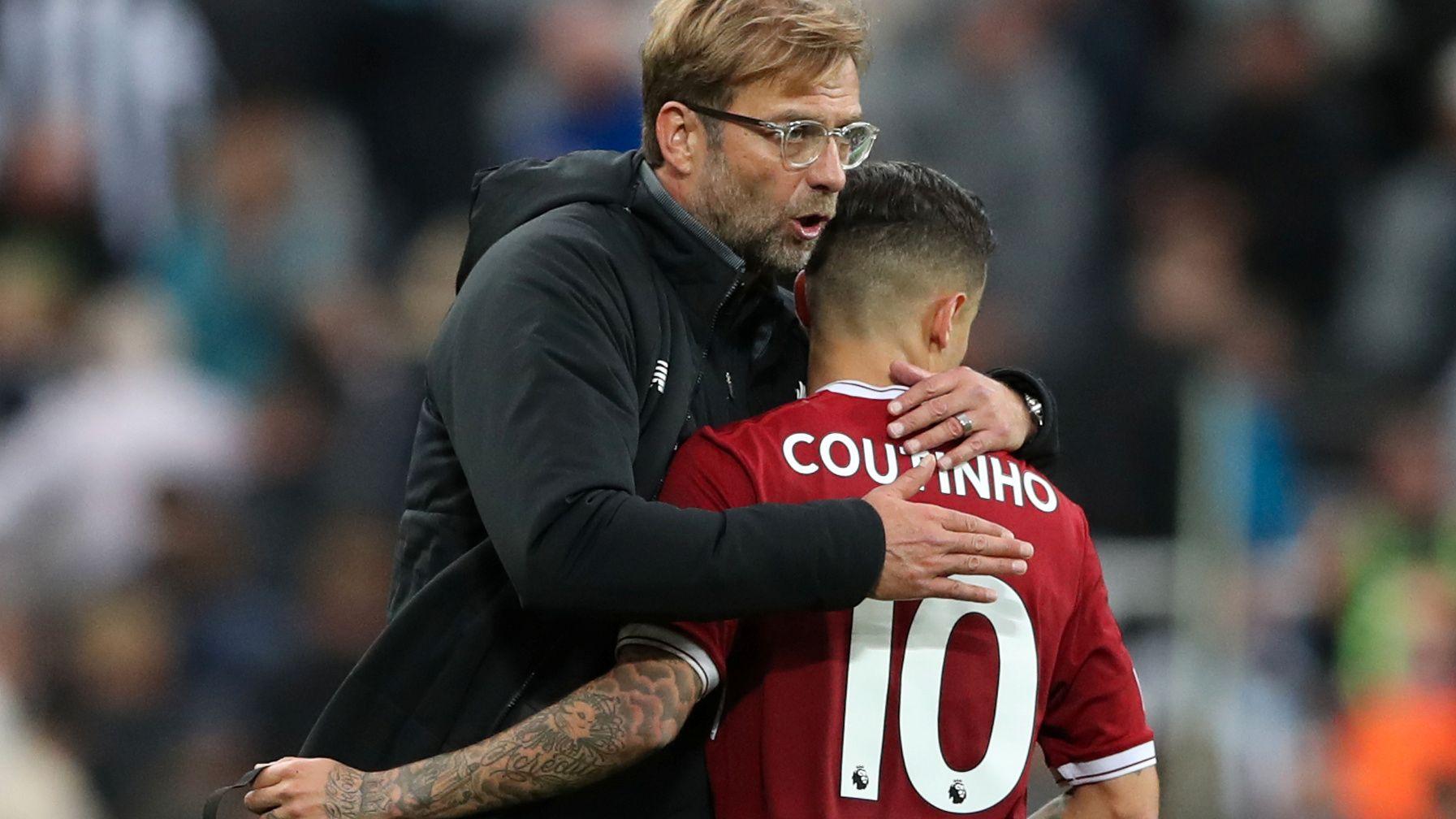 HOLDER PÅ STJERNE: Liverpool-manager Jürgen Klopp ønsker ikke å miste Philippe Coutinho.