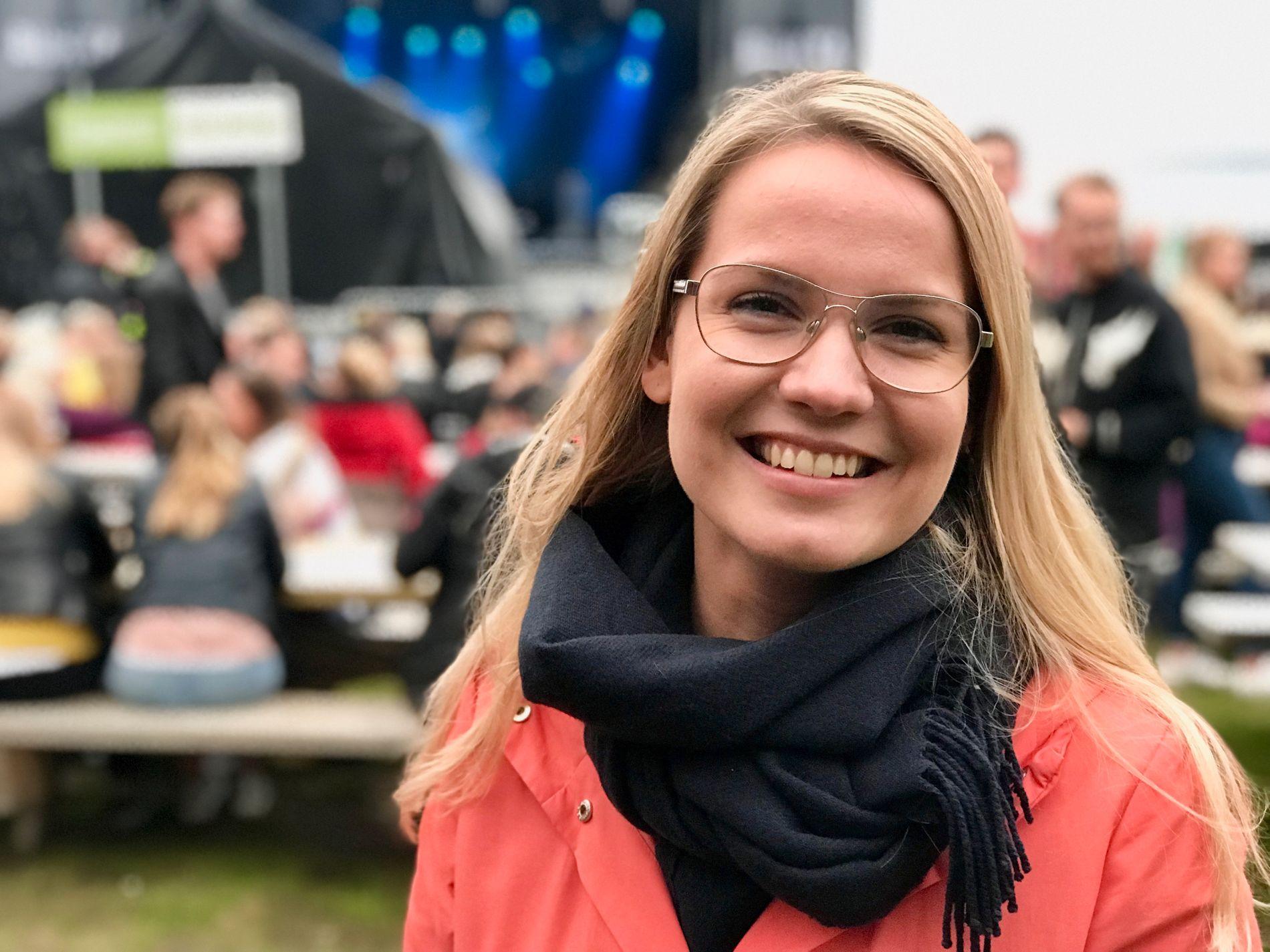 Katarina Goldfain Johnsen.