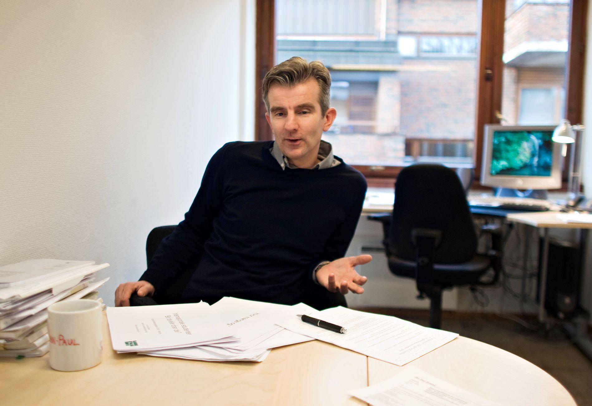 FORSKER: Jan-Paul Brekke har ledet arbeidet med Integreringsbarometeret.